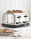 JDW Stainless Steel 4 Slice Toaster