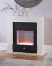 Downham Ivory Compact Fireplace Suite