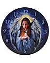 Lisa Parker Guard Angel Picture Clock