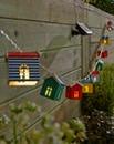 10 Solar Beach Hut String Lights