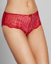 Jasmine Deco Red Lace Brazillian Briefs