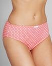 Spot Pink/White Midi Briefs