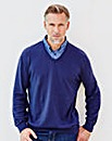 WILLIAMS & BROWN Mock Shirt Jumper
