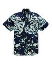 Label J Hibiscus Print Shirt Regular