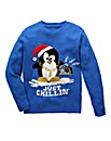 Label J Chillin Christmas Jumper Regular