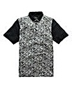 Black Label By Jacamo Seb Floral Polo R