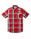 Lambretta Scarlet Red Shirt Long