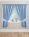 Maddison Pencil Pleat Kitchen Curtains