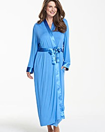 Pretty Secrets Luxury SatinTrim Gown L50