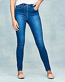 Lucy High Waist Skinny Jeans Reg