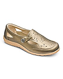 Cushion Walk Leather Shoes E Fit