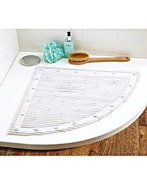 Quadrant Stay Put Safety Bath Mat