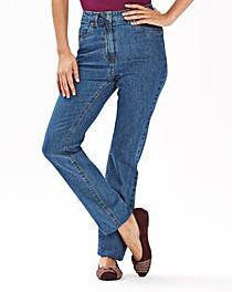 Elle Straight Leg Jeans Length 27in