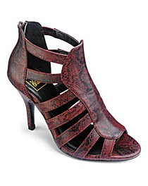 Sole Diva Heeled Gladiator Shoes E Fit