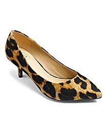 Sole Diva Plain Court Shoes E Fit