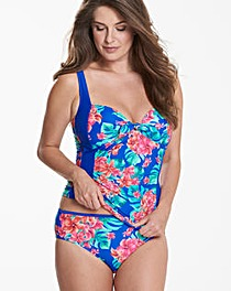 Beach to Beach Tropical Tankini Top