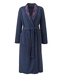 Miliarosa Fleece Wrap Gown L48