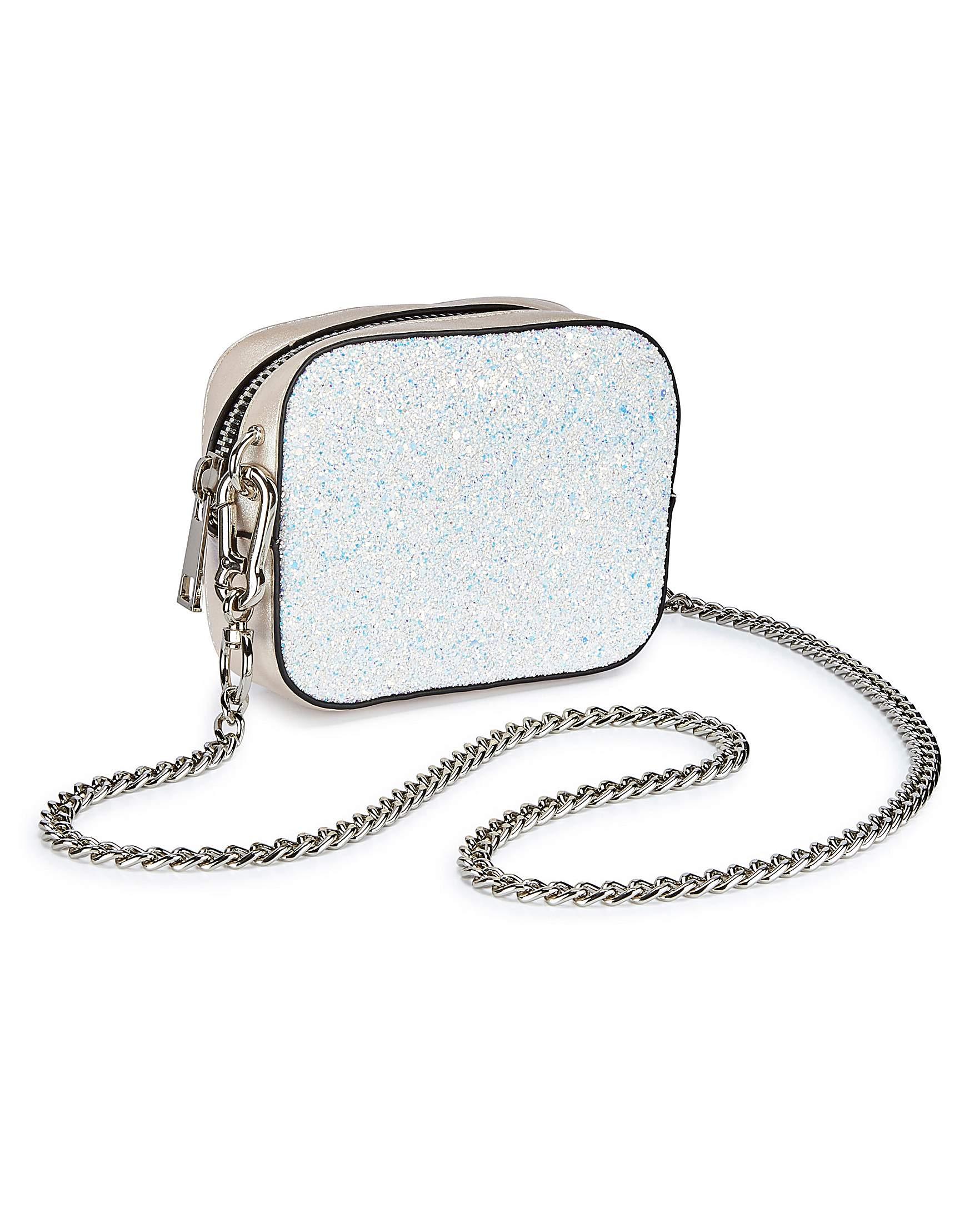JD Williams Trixie Mini Glitter Shoulder Bag bbNvXJlJxT