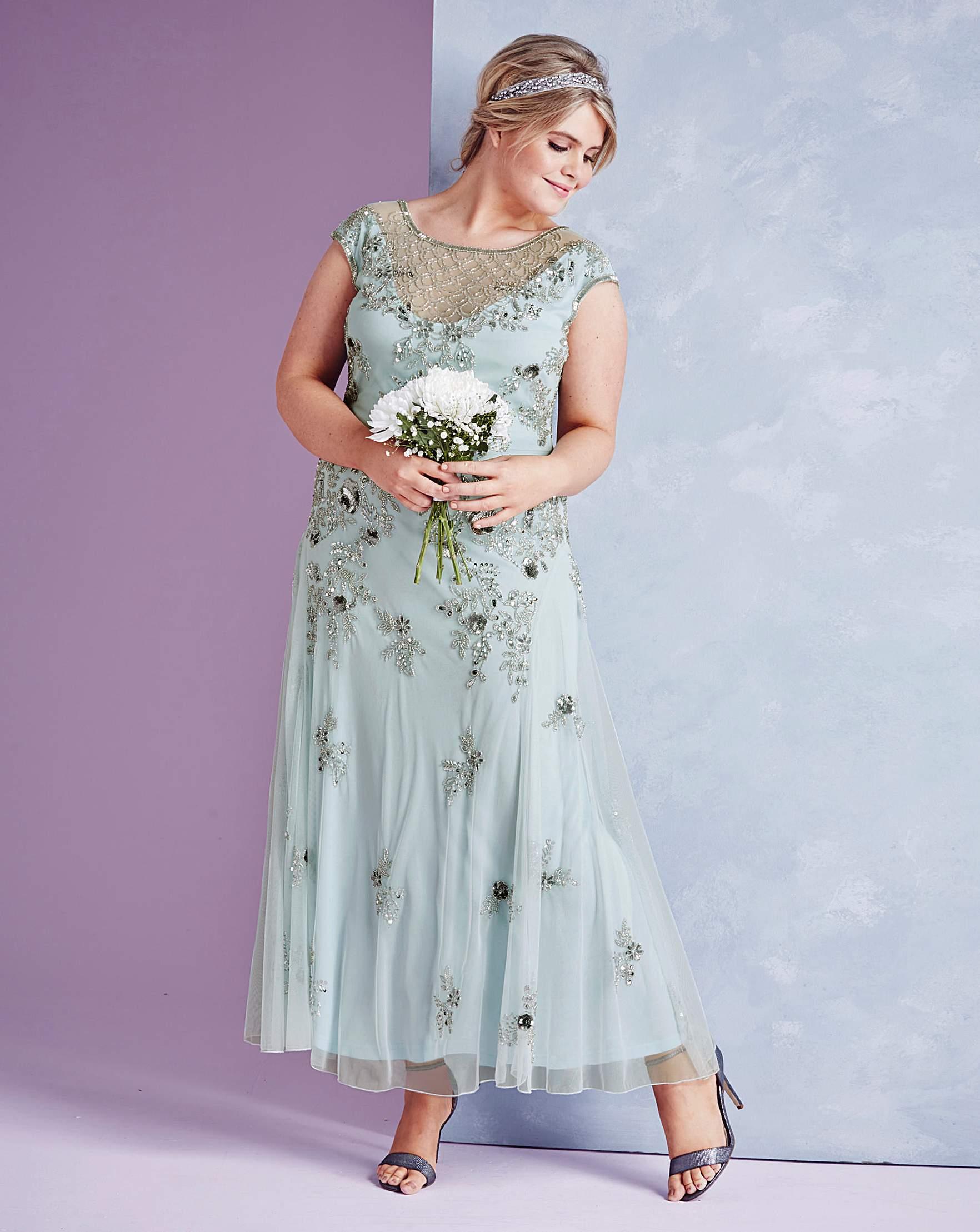 JOANNA HOPE Embellished Maxi Dress | Simply Be