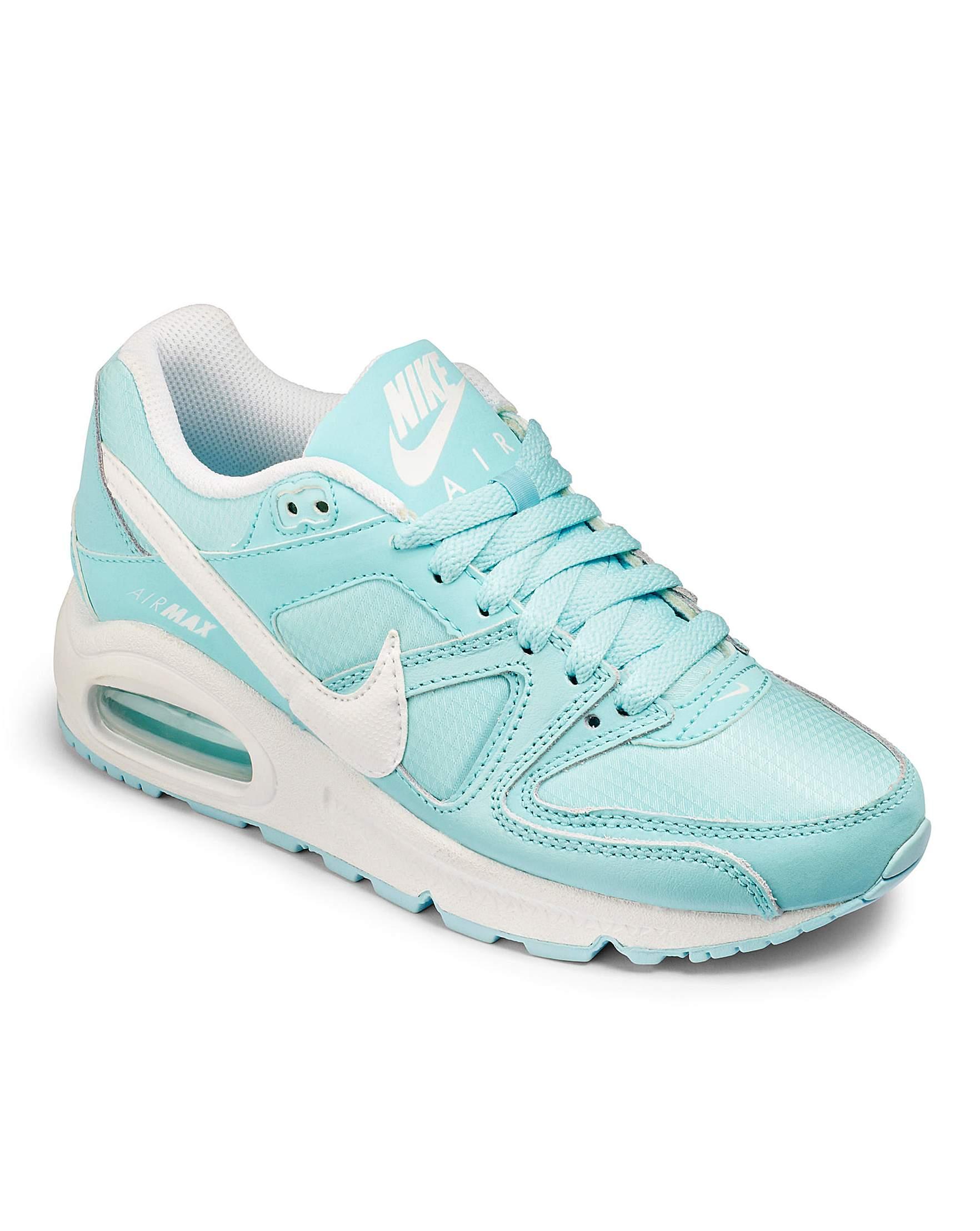 sports shoes 1a15b ae301 ... Nike Girls Air Max Command Jnr Trainers Fashion World ...