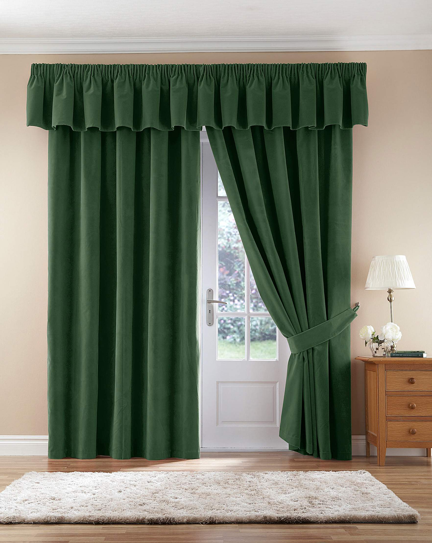 Thermal Velour Pencil Pleat Curtains | Premier Man for Pencil Pleat Curtains On Track  545xkb