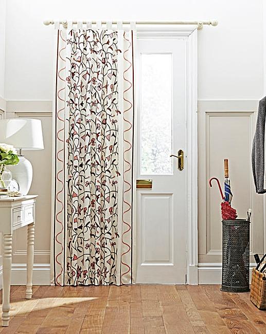 Crewel Work Door Curtain | House of Bath
