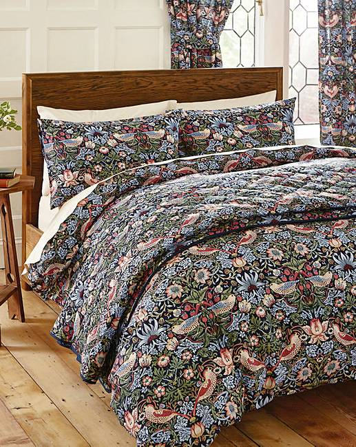 William Morris Strawberry Thief Duvet Premier Man