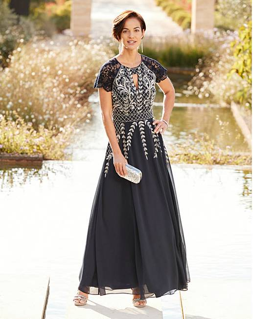Joanna Hope Beaded Maxi Dress J D Williams