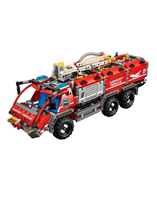 lego technic airport rescue vehicle marisota. Black Bedroom Furniture Sets. Home Design Ideas