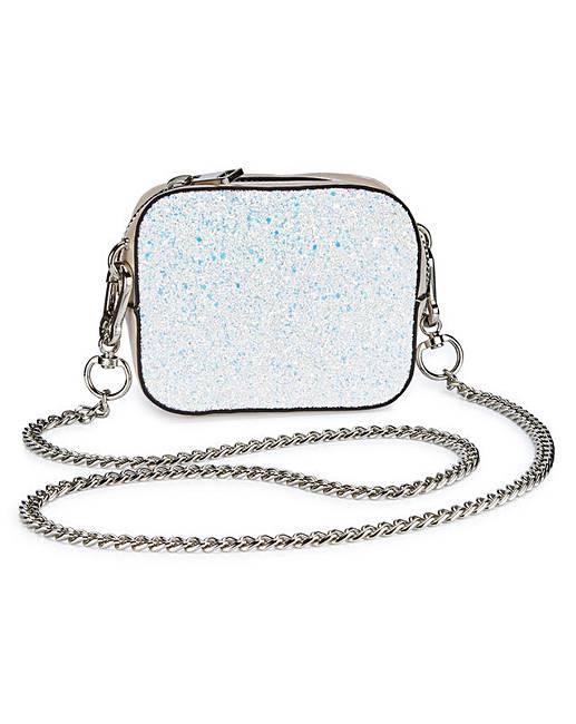 JD Williams Trixie Mini Glitter Shoulder Bag avPaLIS