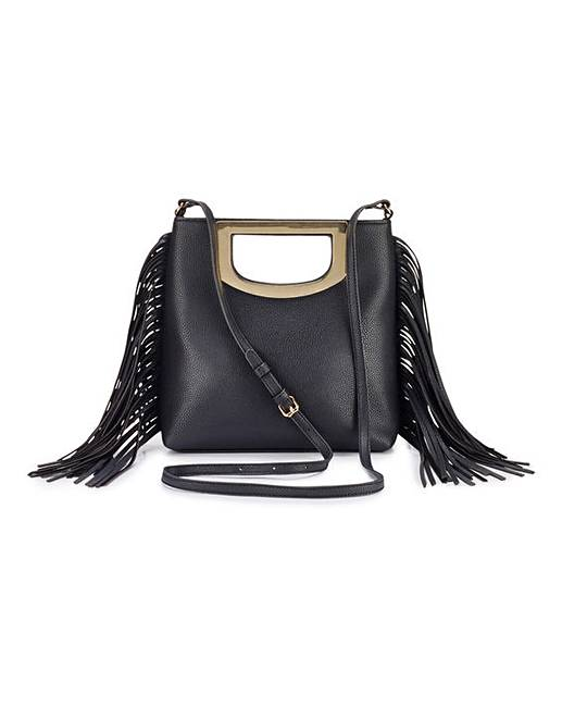 Simply Be Long Fringing Shoulder Bag
