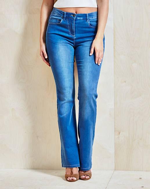 Cheap Bootcut Jeans Regular Length cbg42382