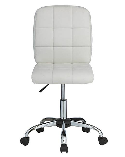 Gas Lift Height Adjule Office Chair J D Williams