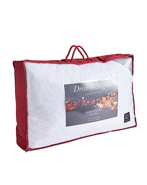 Goose Down Feather Pillows Fashion World