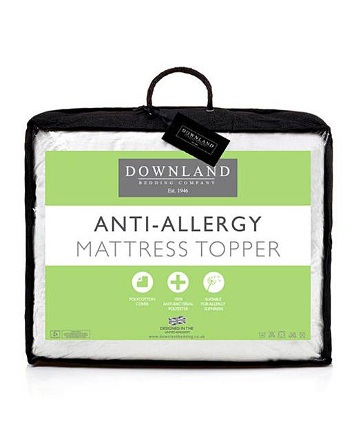 Anti Allergy Mattress Topper Oxendales