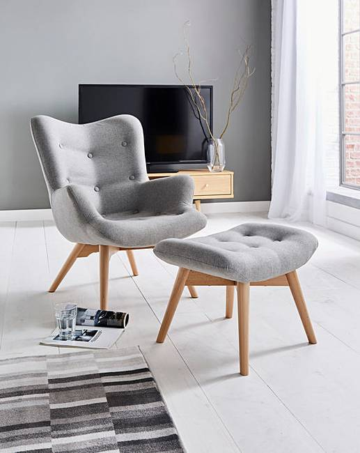 Bergen Accent Chair J D Williams