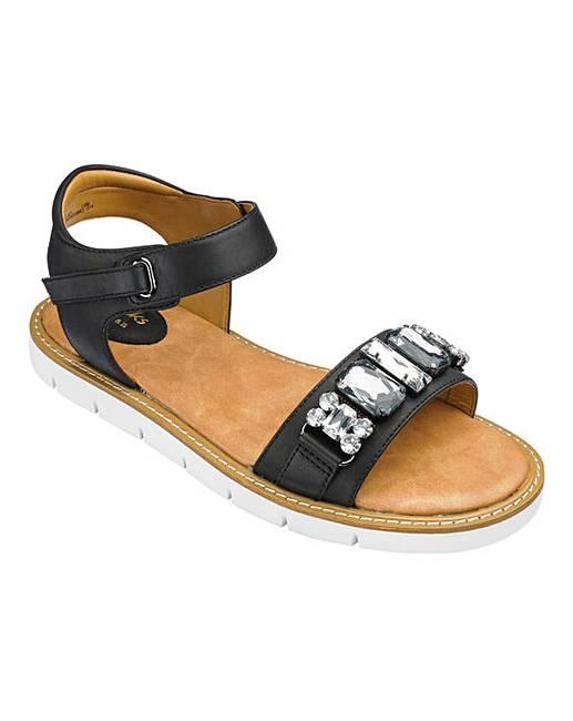 Clarks Lydie Joelle Sandals D Fit Fashion World