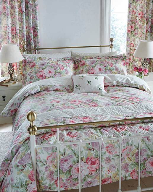 sanderson amelia rose duvet cover set marisota. Black Bedroom Furniture Sets. Home Design Ideas