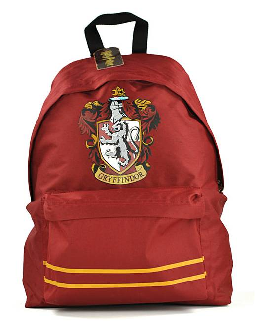 harry potter gryffindor backpack marisota. Black Bedroom Furniture Sets. Home Design Ideas