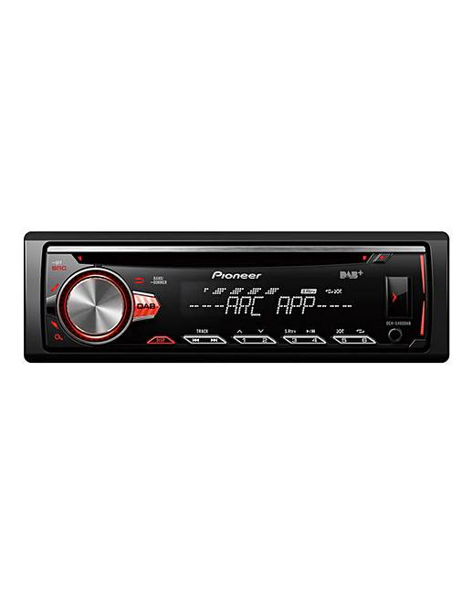 pioneer deh s400dab car stereo j d williams. Black Bedroom Furniture Sets. Home Design Ideas