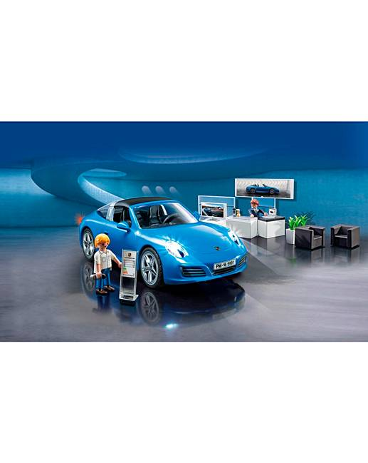 playmobil porsche 911 targa 4s j d williams. Black Bedroom Furniture Sets. Home Design Ideas