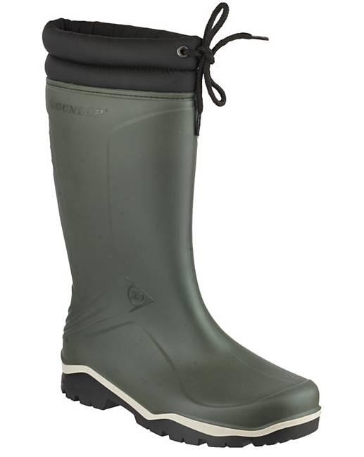 Dunlop Mens Blizzard Boot Green Size 44 POzgUnI