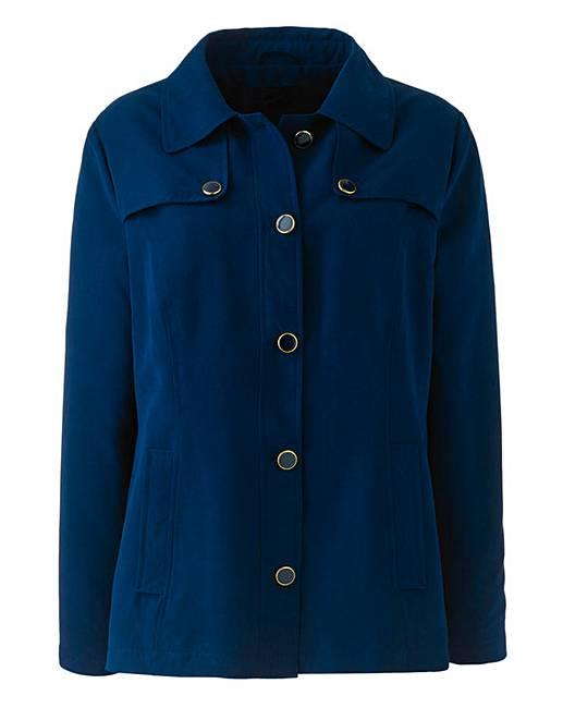 slimma microfibre jacket with pockets marisota
