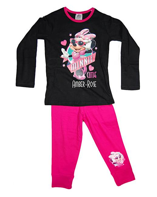 Personalised Minnie Mouse Pyjamas