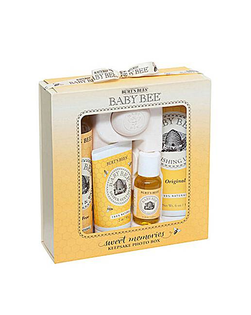 Burts Bees Baby Bee Memories Gift Set Simply Be