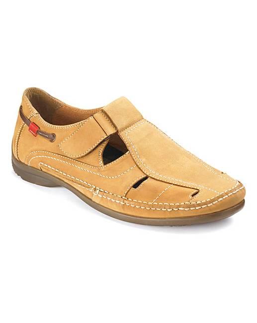 Black Sandalised Shoes