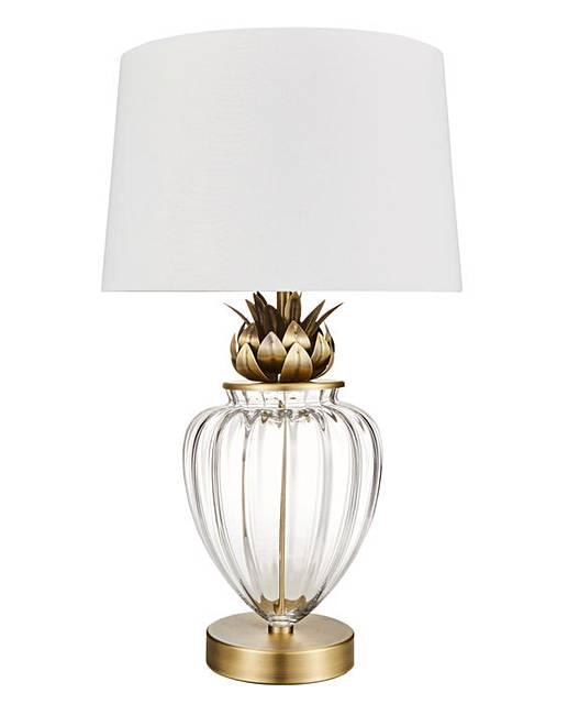 Pineapple table lamp j d williams pineapple table lamp aloadofball Images