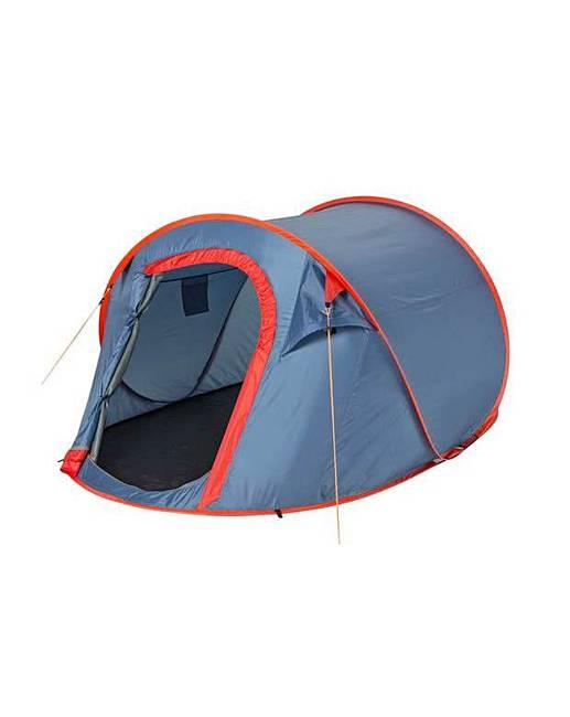 Highlander 3 Man Pop Up Tent.  sc 1 st  JD Williams & Highlander 3 Man Pop Up Tent. | J D Williams