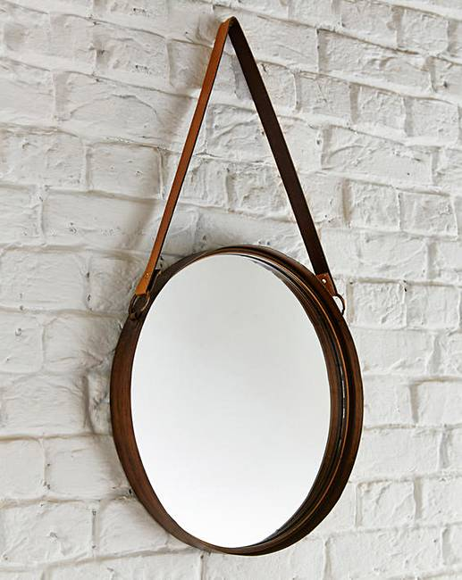 Marston hanging mirror j d williams for Hanging mirror