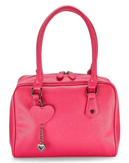 Simply Be Bowler Bag With Zip Detail YRjEPECSHW